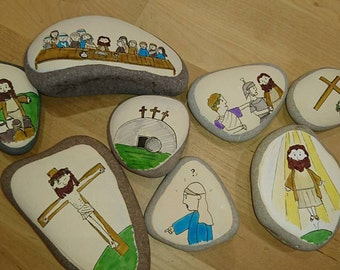 The Easter Story - Story Stones: Educational story telling fun