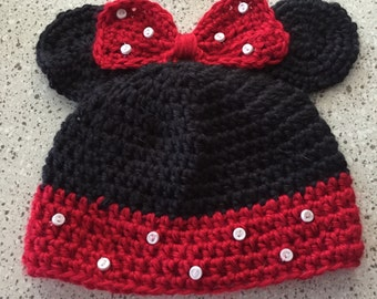 Minnie Mouse Beanie