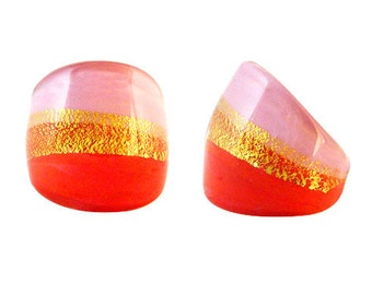 Murano Glass Ring 'Gina' by Mystery of Venice