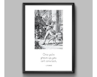 Digital Print - Peter Pan - Can't Come Back