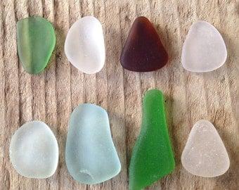 Genuine Sea Glass Pendants