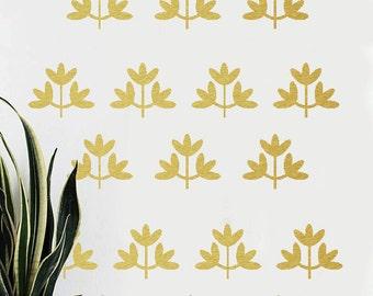 Leaves Vinyl Stickers - Vinyl Decal - Vinyl Wall Decals - Vinyl Wall Stickers - Leave Decals - wall decoration - Leaves decals - Vinyl decal