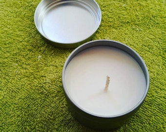 6 oz Soy Candle in Tin Jar