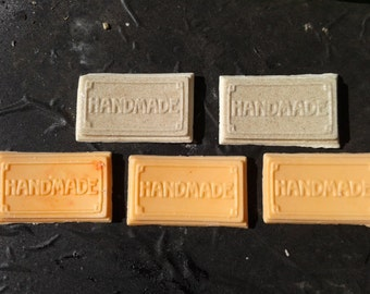 Set of 15 Hand Made guest soaps