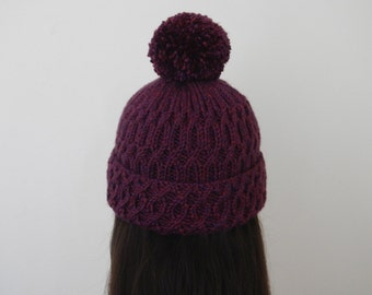 Autumn Adventure Beanie - Purple