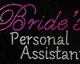 Brides personal assistant