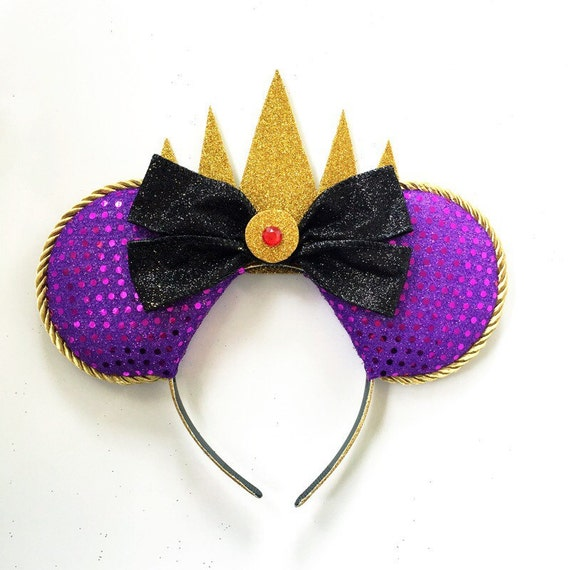 Evil Queen Ears Snow White Evil Queen Ears by ToNeverNeverlandDisney Evil Queen Ears