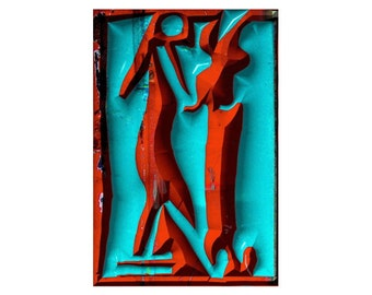 Encounter - relief by Roland Staab, 2005, digital art, download