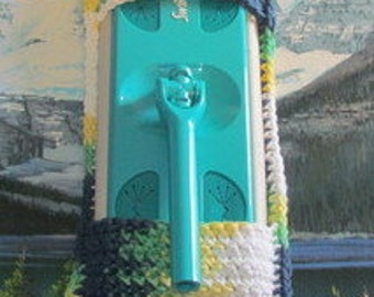 0401 Hand crochet swiffer mop cover
