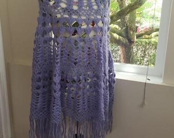 Huge mohair shawl
