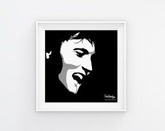 Elvis Presley Art Print Download
