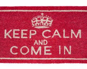 Doormat Keep Calm