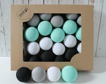 Cotton Balls Mint Marti 10 items