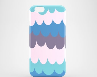 Bold Waves iPhone 7 case / Purple iPhone 7case / iPhone 7 Plus case / waves iPhone 6S case / graphic iPhone 6S case / bright iPhone 6S