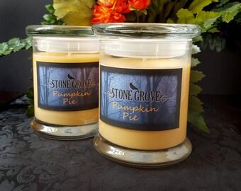 Soy Candle, Pumpkin Pie 8 oz