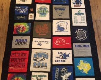 10 T- shirt quilt