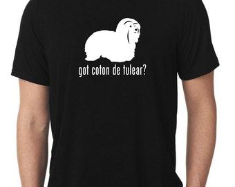 Got Coton de Tulear T-Shirt cotie T780