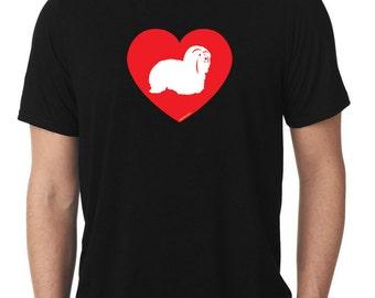 Love Coton de Tulear T-Shirt cotie T782