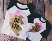 Best Friends Raglan Shirts, BFF shirts, Mommy and Me Shirts, Twins Shirts, Sisters Shirts,Sibling Shirts, Gold Glitter Shirts unisex size