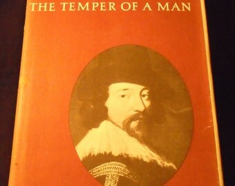 Francis Bacon The Temper of A Man by Catherine Drinker Bowen Vintage Biography 1963 History England 1600s Elizabeth I