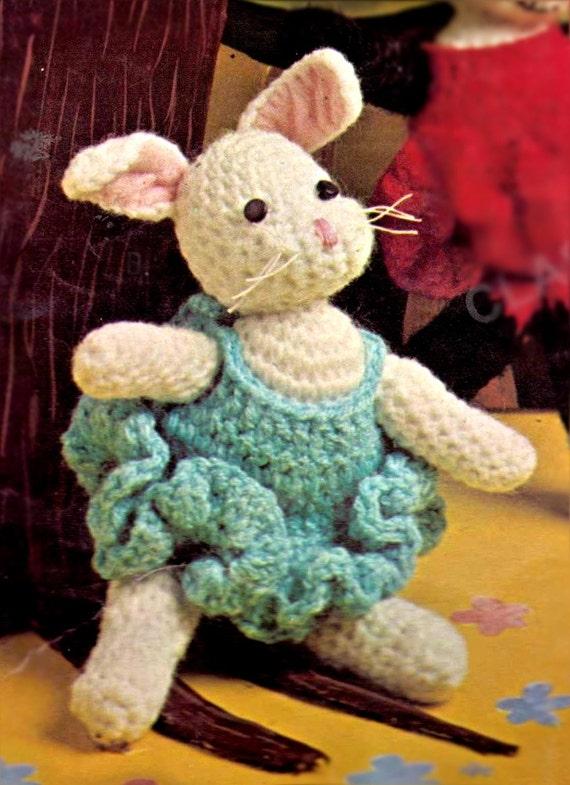 crochet animal pattern, panda, amigurumi patterns, bunny ...