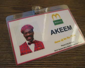 Coming to America - Akeem Employee I.D. Badge - Eddie Murphy - B3G1F