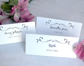 NOW FREE SHIPPING Wedding Table Place Tags for guests Wedding Name tags wedding place cards Custom