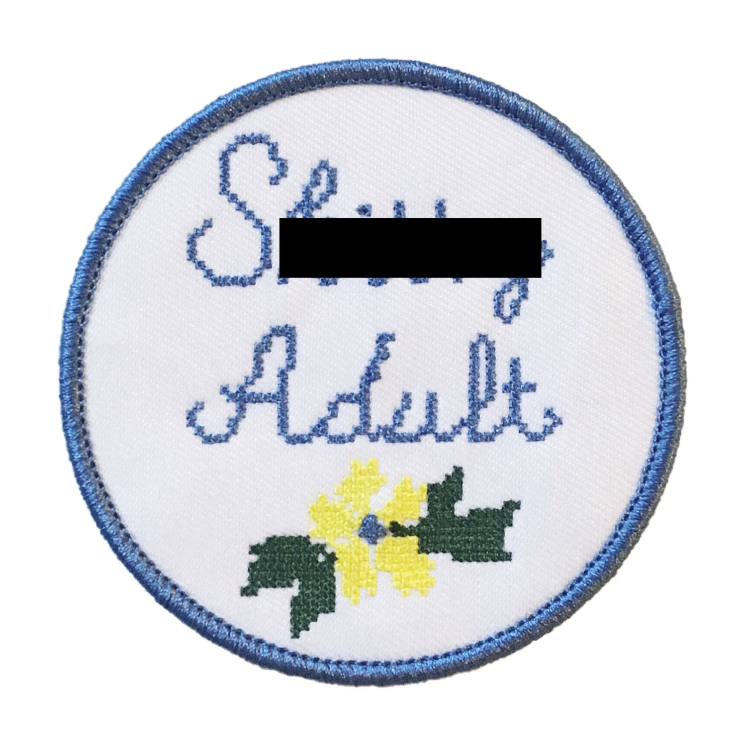 adult iron on patches