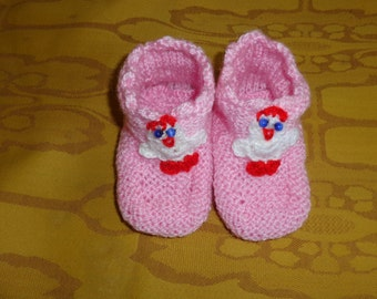 Girl's slippers. Acrylic  pink girl's slippers, Slippers with amigurumi duck