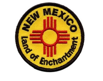 New Mexico Patch - Land of Enchantment
