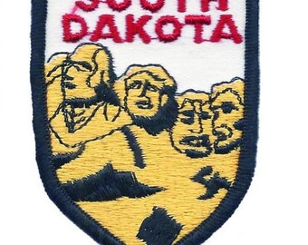 South Dakota Patch - Mt. Rushmore