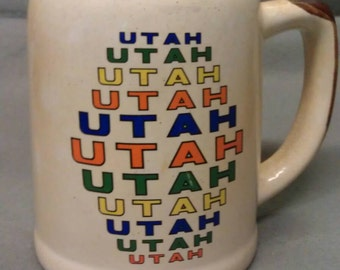 Utah State Mug- Stein