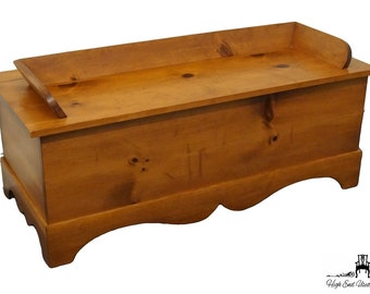 """TOM SEELY 42"""" Solid Pine Blanket / Hope Chest"""