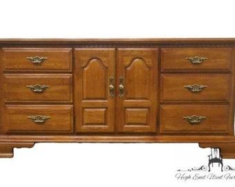SUMTER CABINET Oak 69″ Door Dresser 1868