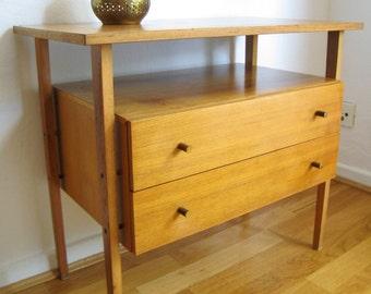 Vintage 60s/70s Cabinet chest of drawers, Nähkörbchen retro