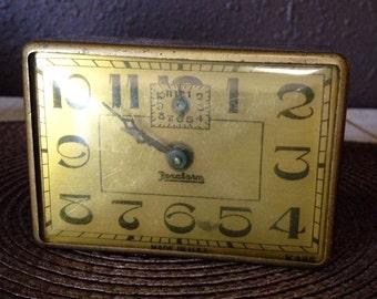 Vintage Rexalarm Mechanical Alarm clock- uncommon clock to find!