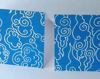 9 Clouds Mini Note Cards