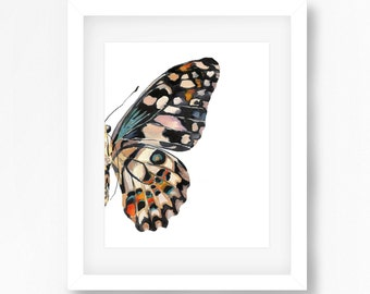 Butterfly Wing 1 Print