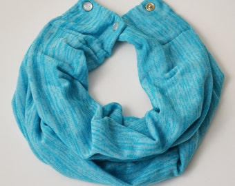 Blue Toddler Infinity Scarf