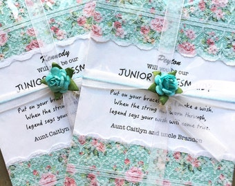 Junior Bridesmaid gift, Junior Bridesmaid proposal, Will you be my Junior bridesmaid, Flower girl proposal, Flower girl Gift ,B2A