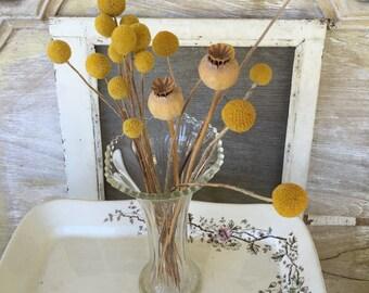 Sweet Lovely Old Vintage Clear Glass Vase
