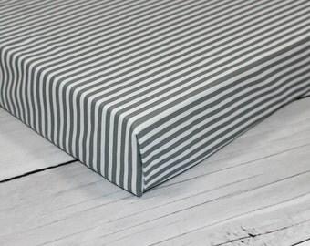 stripes crib sheets, fitted crib sheet, monochrome nursery, crib bedding, boy crib sheet, girl crib bedding, monochrome baby, vintage
