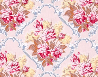 Jennifer Paganelli Caravelle Arcade Jessica in ivory  OOP -  cotton quilting fabric by the yard