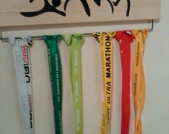 Pine Medal Display Board Hanger Triathlon (45cm wide)