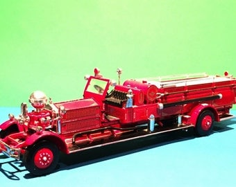 Matchbox 1930 Ahrens-Fox Fire Engine Special Edition