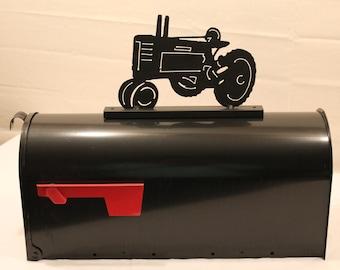 Tractor- Mailbox Topper-farming decor