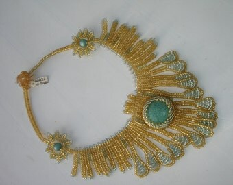 item 115 - handmade beaded necklace