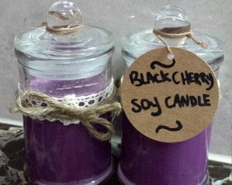 Blackcherry Soy Candles