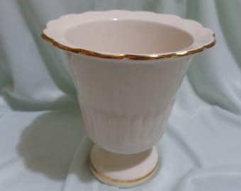 Porcelain vase signed Coronetti Cunardo Italy
