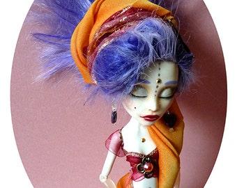 Indian Girl - Monster High custom